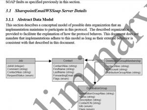 Protocol documentation sample